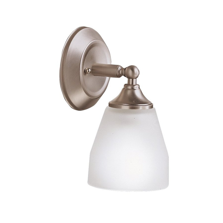 Kichler Lighting 1-Light Ansonia Brushed Nickel Modern Vanity Light