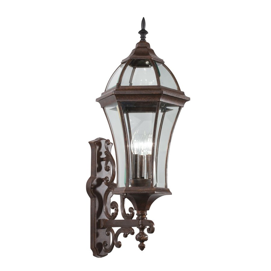 Kichler Lighting Townhouse 31-in H Tannery Bronze Outdoor Wall Light