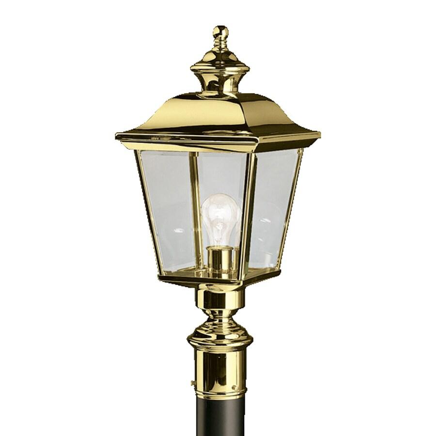 shop kichler lighting bay shore 22 5 in h polished brass. Black Bedroom Furniture Sets. Home Design Ideas