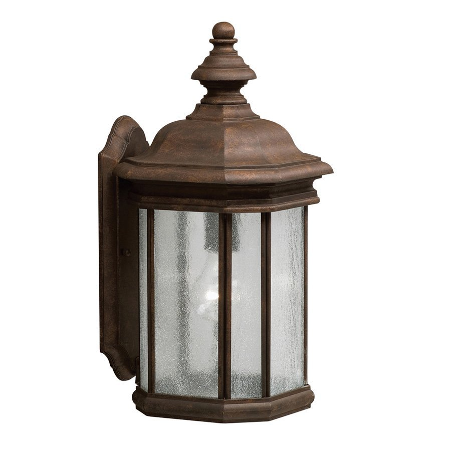 Kichler Lighting Kirkwood 17-in H Tannery Bronze Outdoor Wall Light