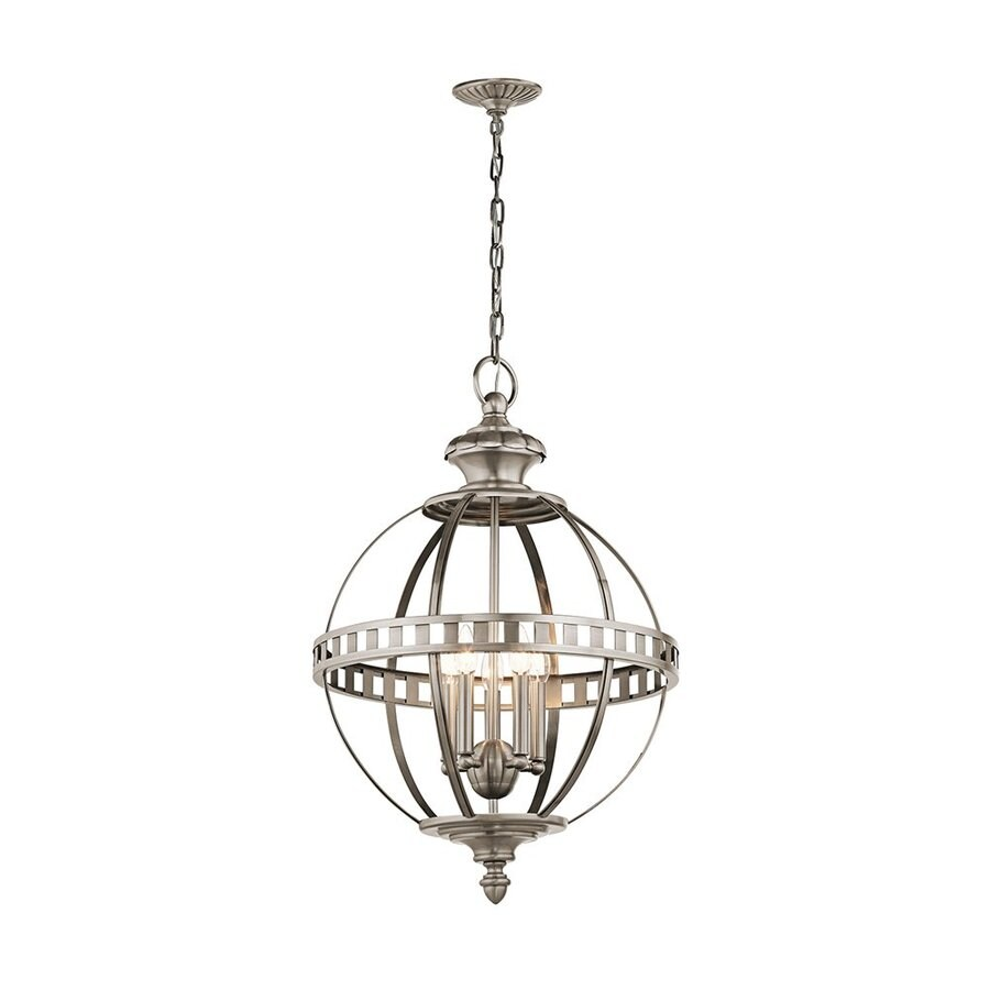 Shop Kichler Lighting Halleron 20 In Classic Pewter