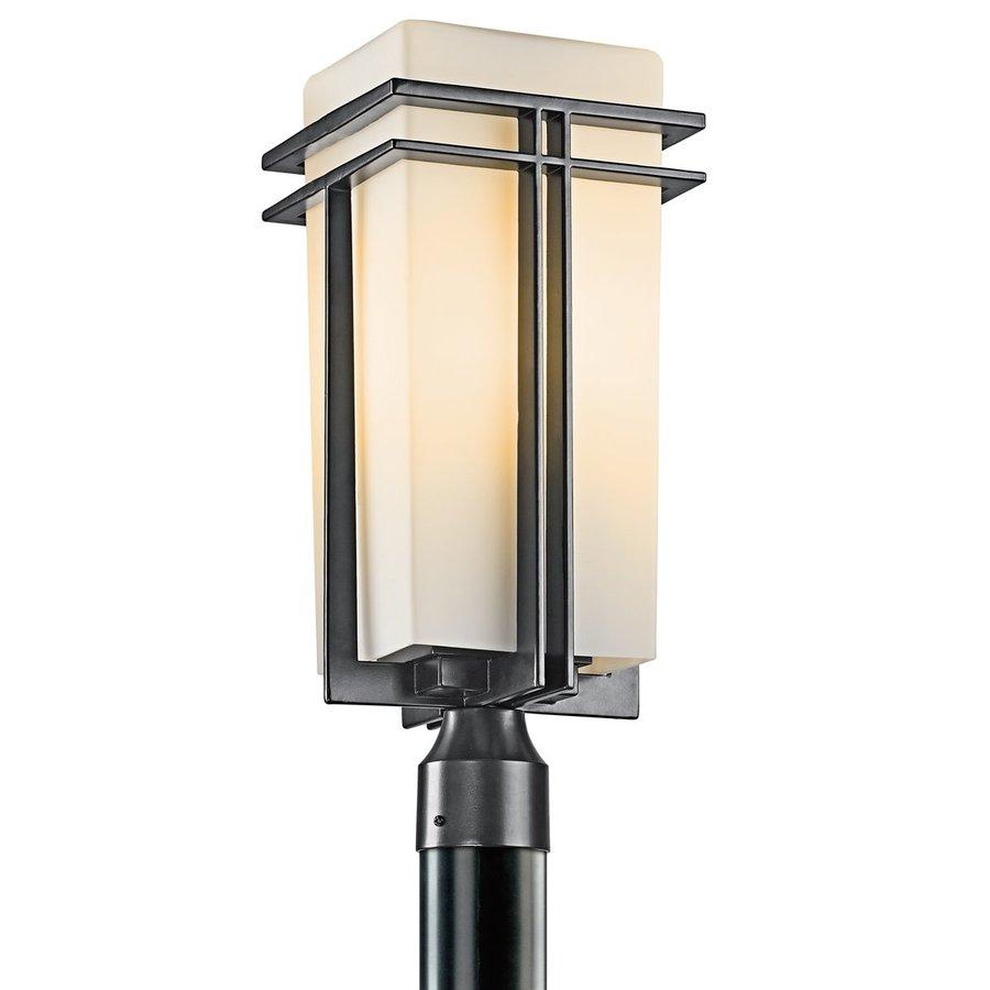 Kichler Lighting Tremillo 20-in H Black Post Light