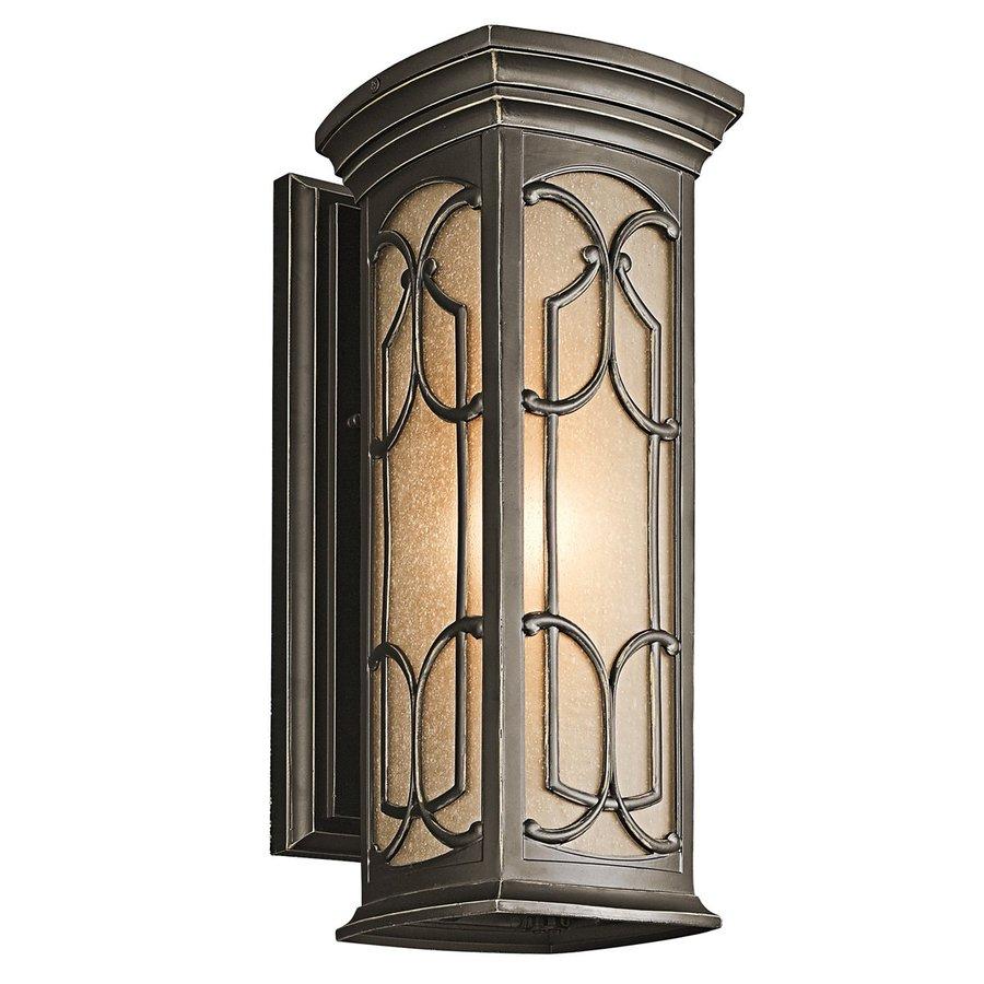 Kichler Lighting Franceasi 18-in H Olde Bronze Dark Sky Outdoor Wall Light