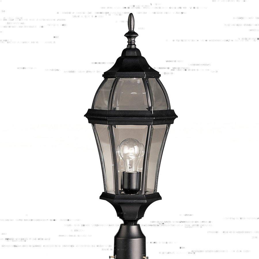 Kichler Lighting Townhouse 24.25-in H Black Post Light