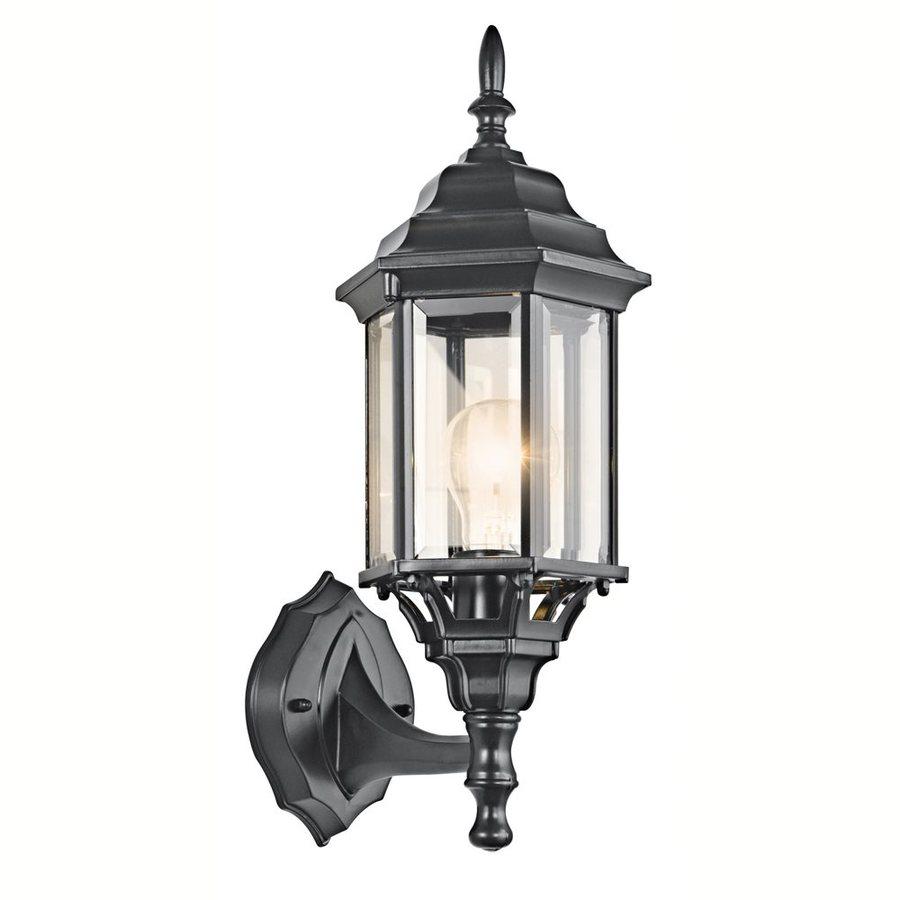 Kichler Lighting Chesapeake 17-in H Black Outdoor Wall Light
