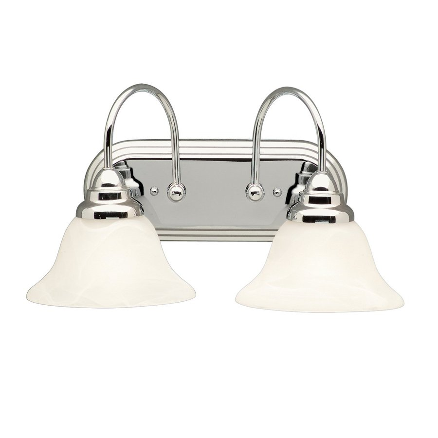 Kichler Lighting 2-Light Telford Chrome Transitional Vanity Light