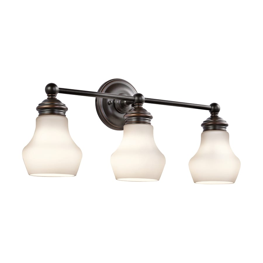 Shop Kichler Lighting 3 Light Currituck Oil Rubbed Bronze