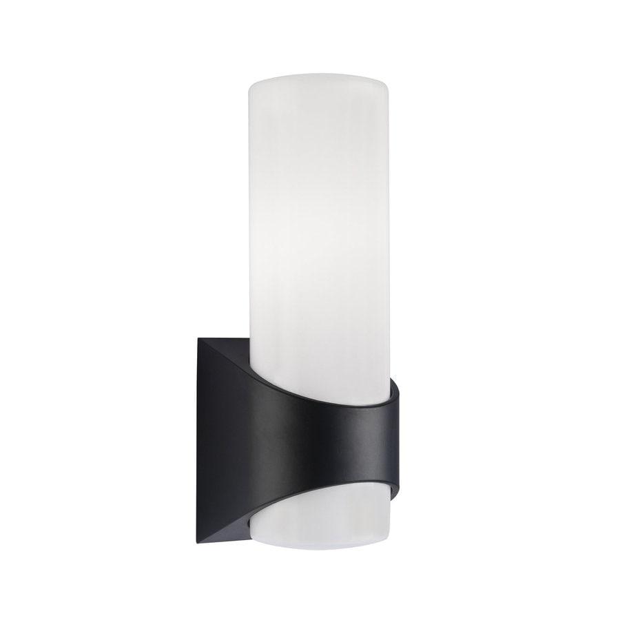 Kichler Lighting Celino 13.25-in H Black Outdoor Wall Light