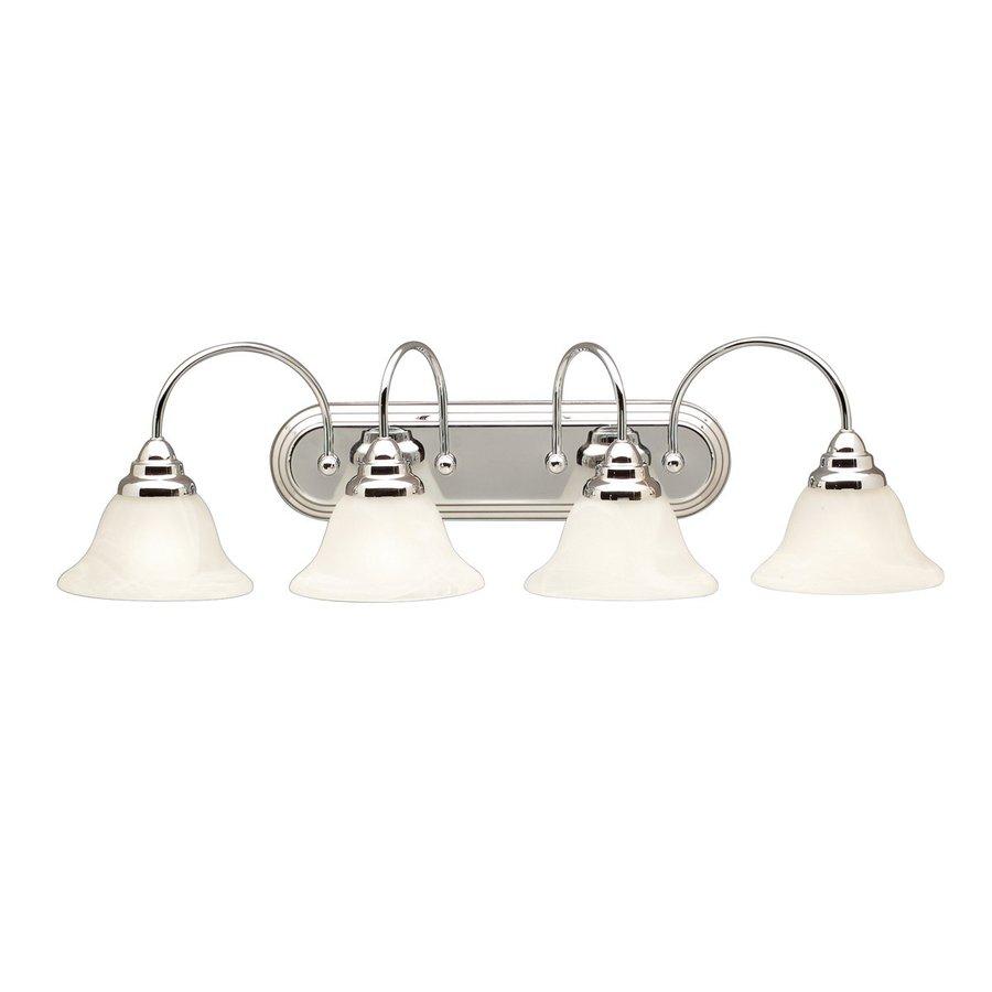 Kichler Lighting 4-Light Telford Chrome Transitional Vanity Light