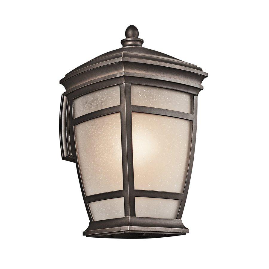 Kichler Lighting Mcadams 17.5-in H Rubbed Bronze Outdoor Wall Light