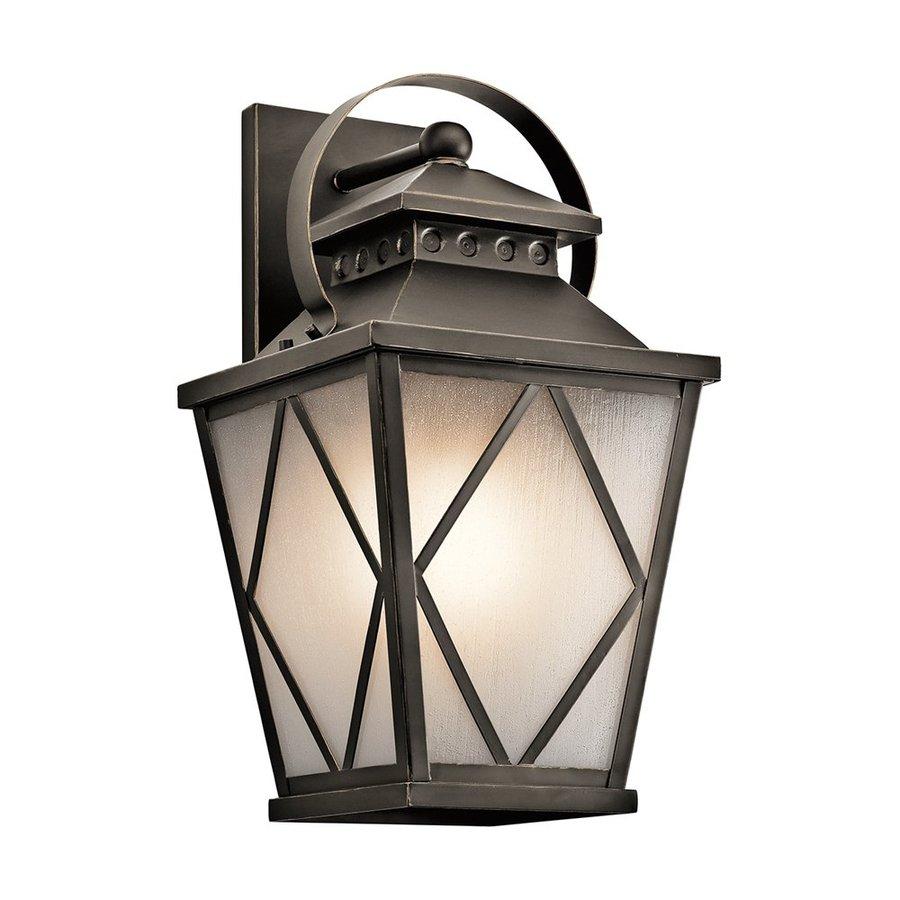 Kichler Lighting Hayman Bay 20.75-in H Olde Bronze Outdoor Wall Light