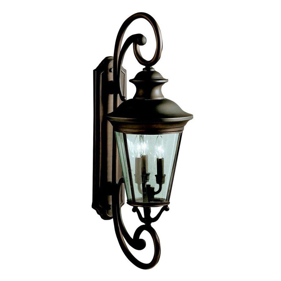 Kichler Lighting Eau Claire 32-in H Olde Bronze Outdoor Wall Light