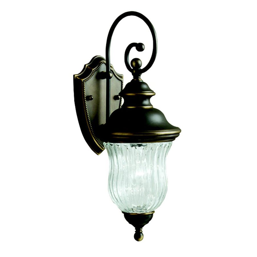 Kichler Lighting Sausalito 19.5-in H Olde Bronze Outdoor Wall Light