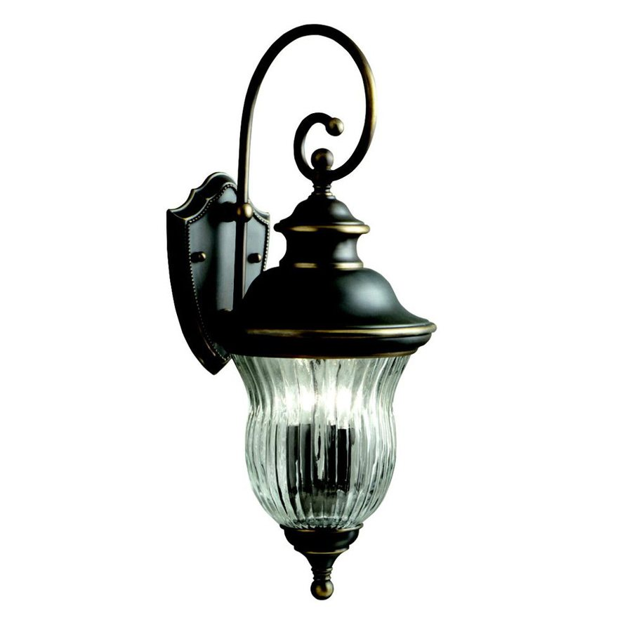 Kichler Lighting Sausalito 24-in H Olde Bronze Outdoor Wall Light