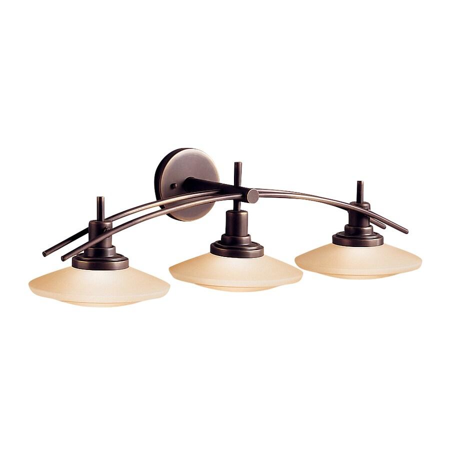 Kichler Lighting 3-Light Structures Olde Bronze Modern Vanity Light