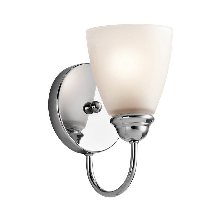 Kichler Lighting 1-Light Jolie Chrome Transitional Vanity Light