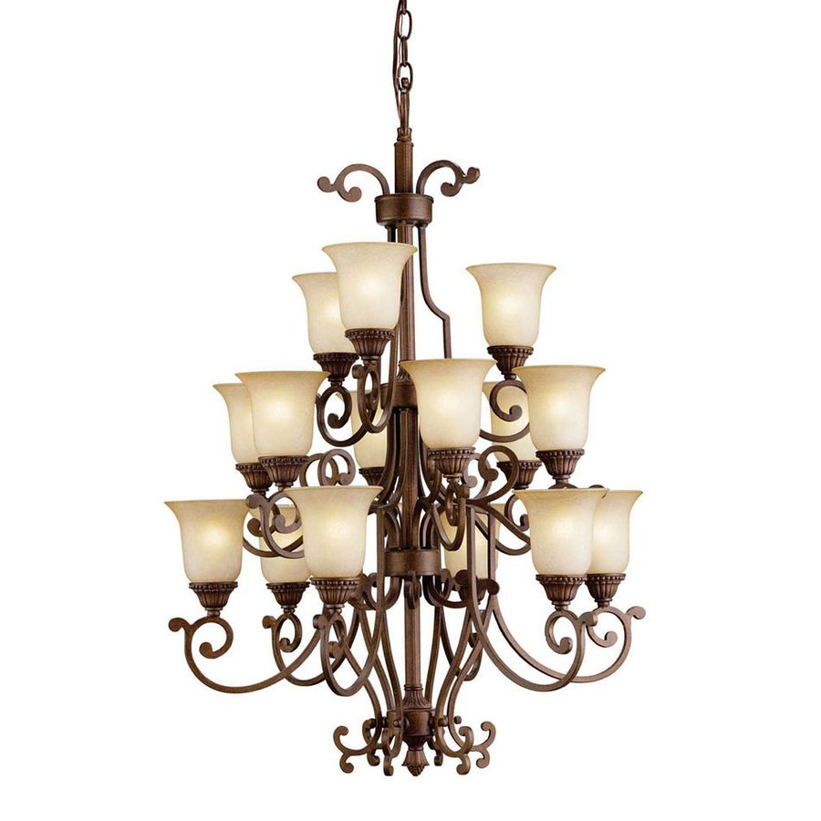 lighting larissa 15 light tannery bronze chandelier at
