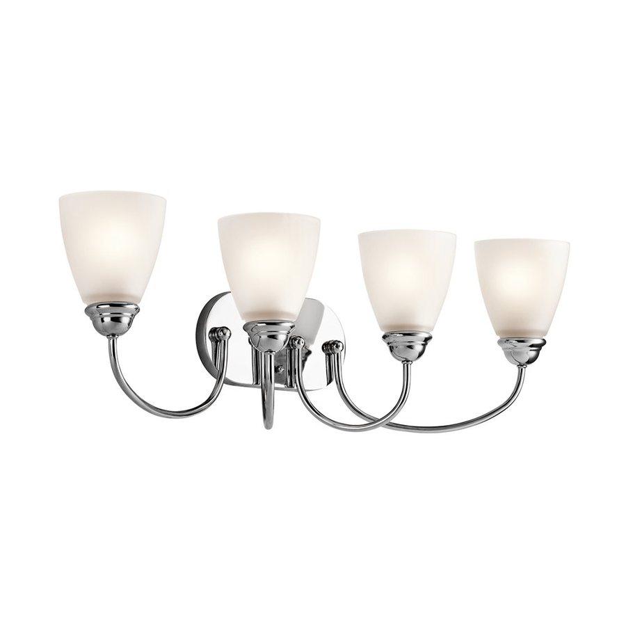 Kichler Lighting 4-Light Jolie Chrome Transitional Vanity Light