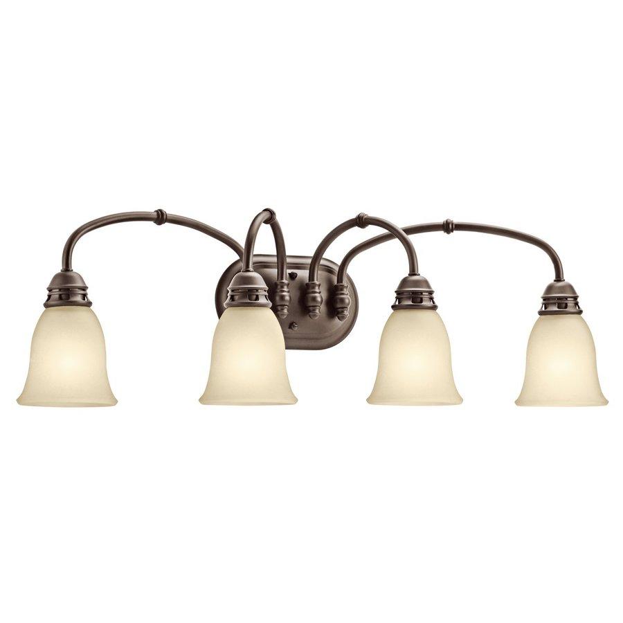 Kichler Lighting 4-Light Durham Olde Bronze Bathroom Vanity Light
