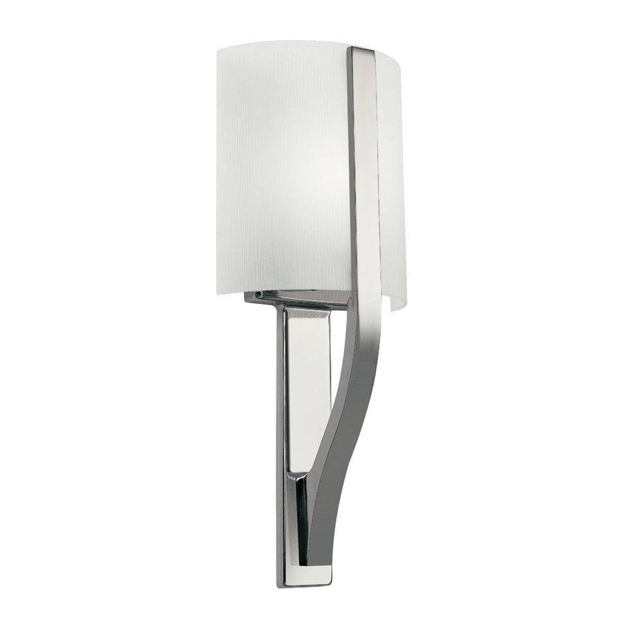 Kichler Lighting 1-Light Freeport Polished Nickel Modern Vanity Light