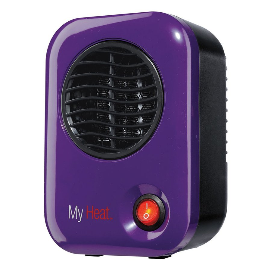 Shop Lasko Ceramic Purple Compact Personal Electric Space Heater at Lowes.com