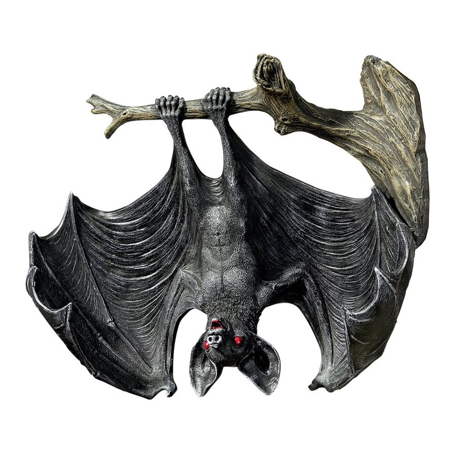 Design Toscano Demon Of The Night Wall-Mounted Bat Figurine