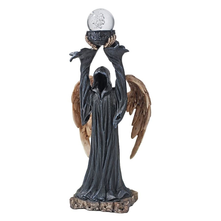 Design Toscano Grim Reaper and The Orb Of Death Freestanding Statue