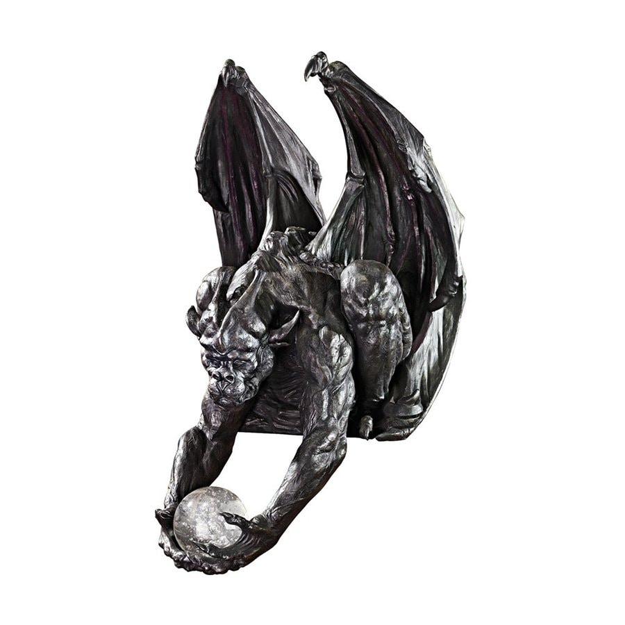 Design Toscano Keeper Of The Mystic Orb Tabletop Gargoyle Sculpture