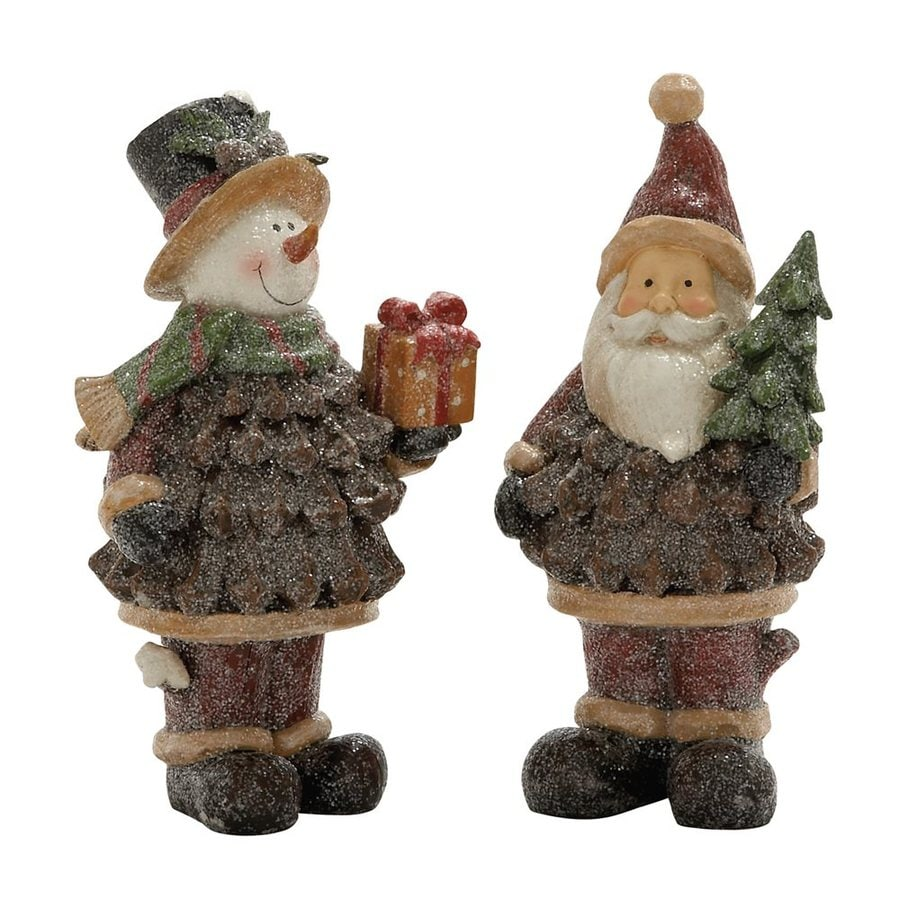 Woodland Imports Set of 2 Resin Tabletop Figurines