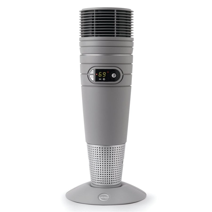 Lasko Ceramic Tower Full Circle Electric Space Heater with Thermostat