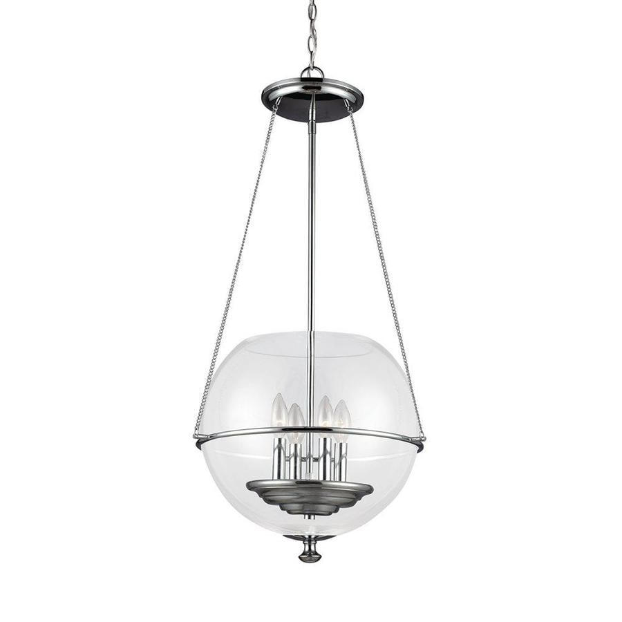 Shop Sea Gull Lighting Havenwood 17.5-in Chrome Vintage