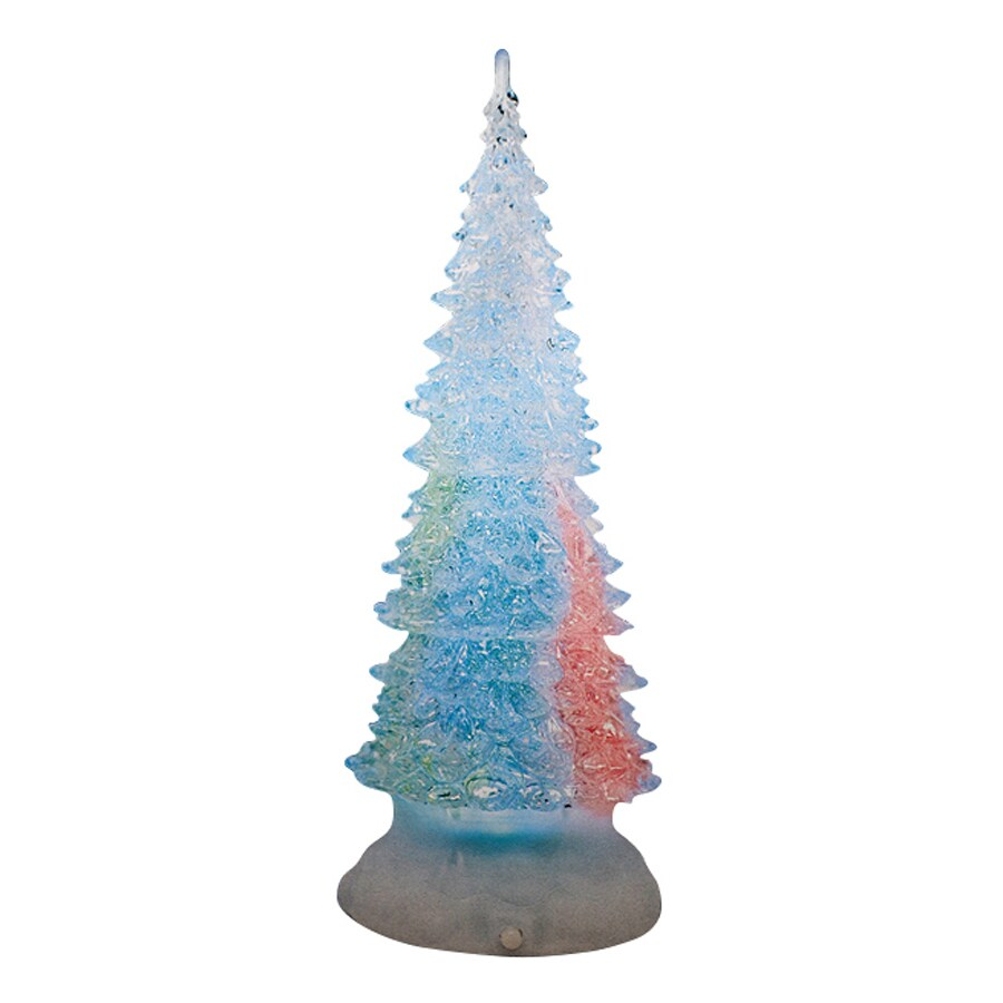Shop Northlight Sienna Pre Lit Acrylic Tabletop Christmas