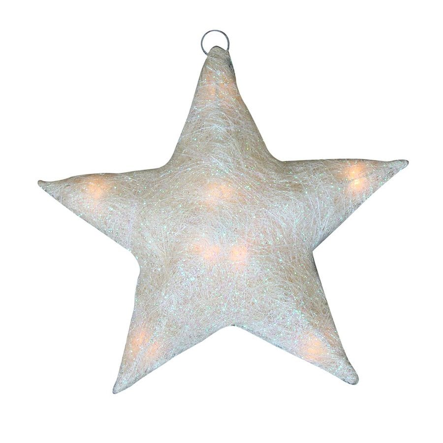 Christmas Decorations Outdoor Star : Northlight alger lighted star hanging outdoor