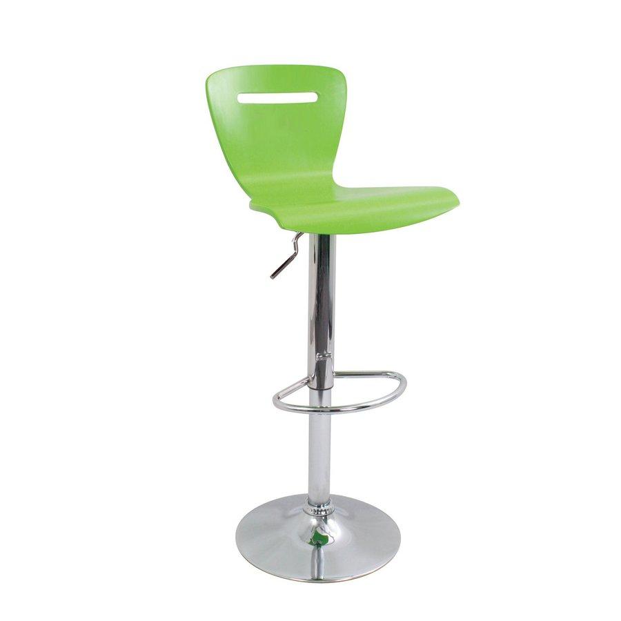 Lumisource Green 32-in Adjustable Stool