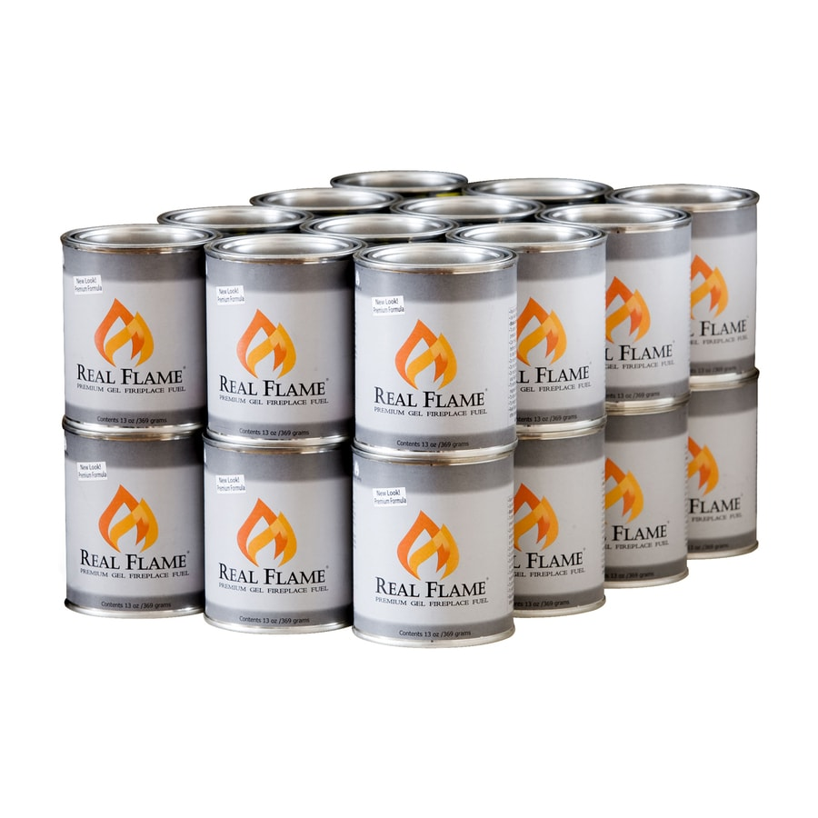 Real Flame 24-Pack 13-oz Solid Gel Fuel