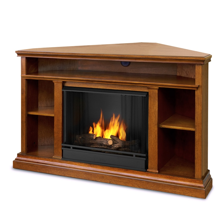 Shop Real Flame 50.75-in Gel Fuel Fireplace at Lowes.com
