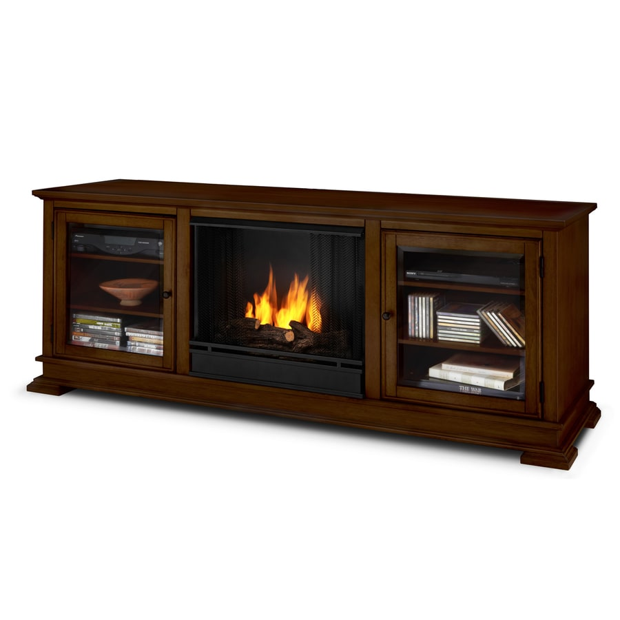 Real Flame 68.4-in Gel Fuel Fireplace