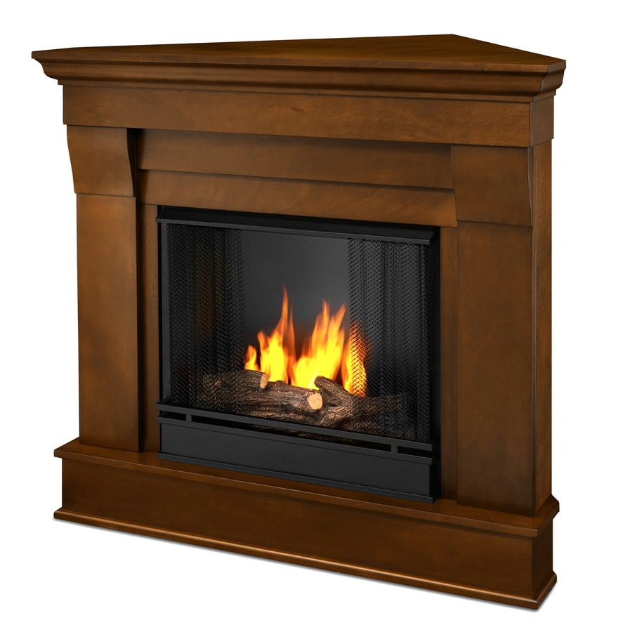 alternate images gel fuel fireplace and mantle included only