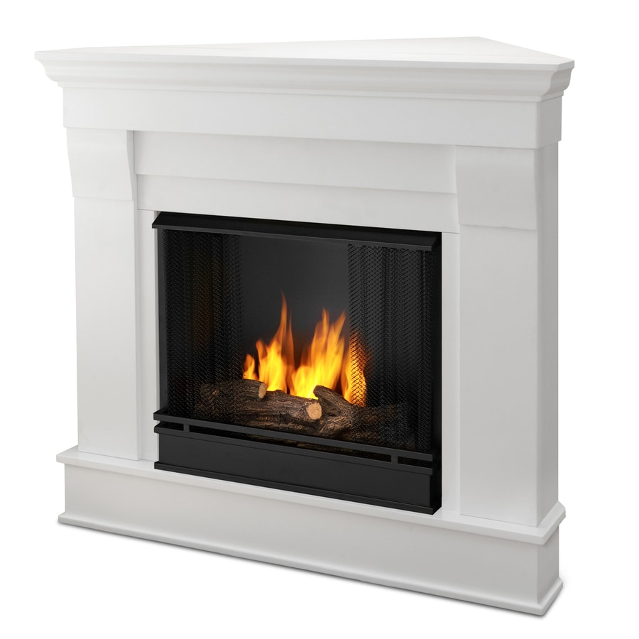 Shop Real Flame 40 9 In Gel Fuel Fireplace At