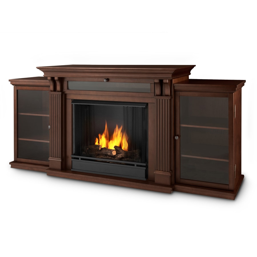 Shop Real Flame 67 In Gel Fuel Fireplace At