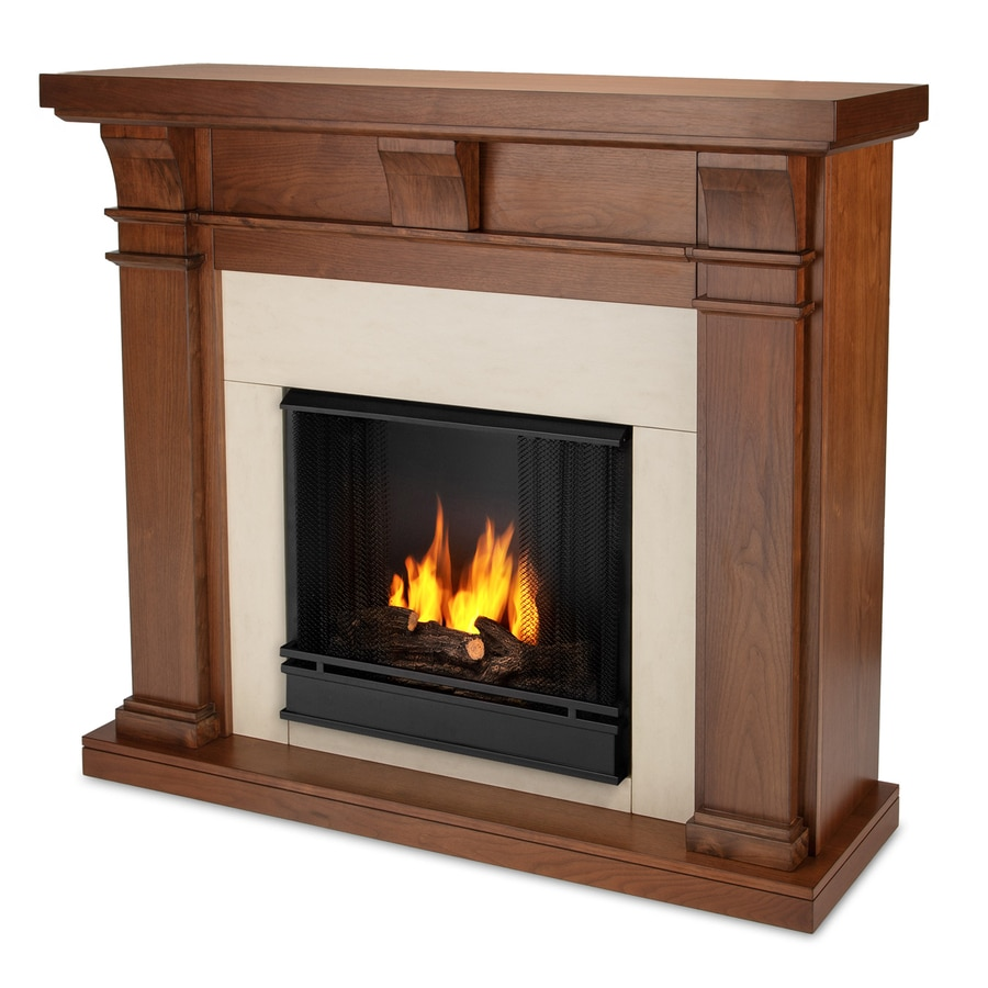 Real Flame 49.9-in Gel Fuel Fireplace