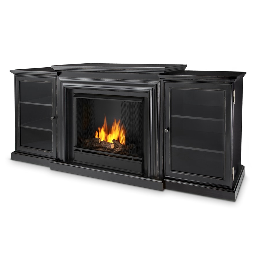 shop real flame 72 in gel fuel fireplace at