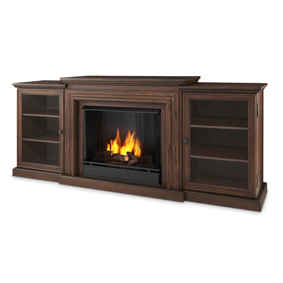 Real Flame 72-in Gel Fuel Fireplace