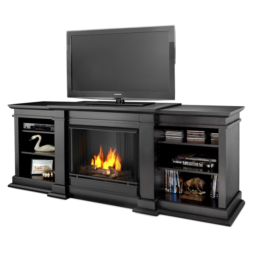 Real Flame 71.73-in Gel Fuel Fireplace