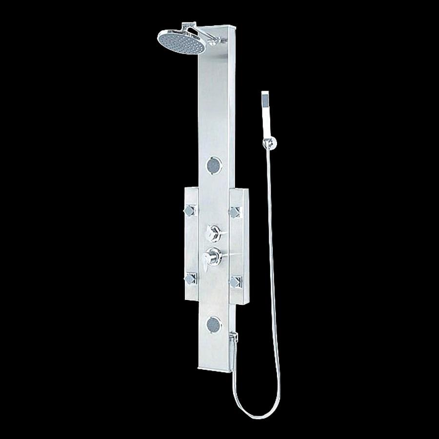 Kokols USA 3-Way Brushed Nickel Shower Panel System