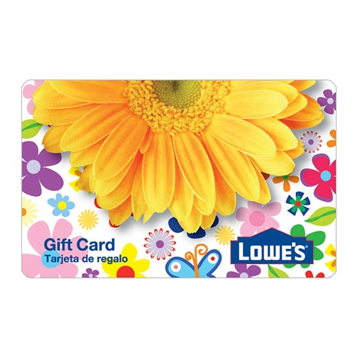 Lowes Daisy Gift Card