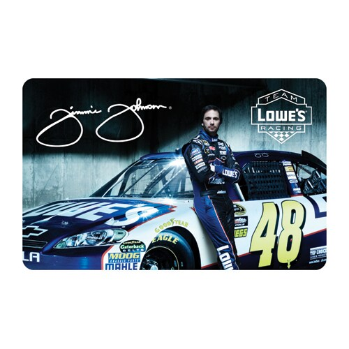 Lowe's Racing Team 48 Gift Card