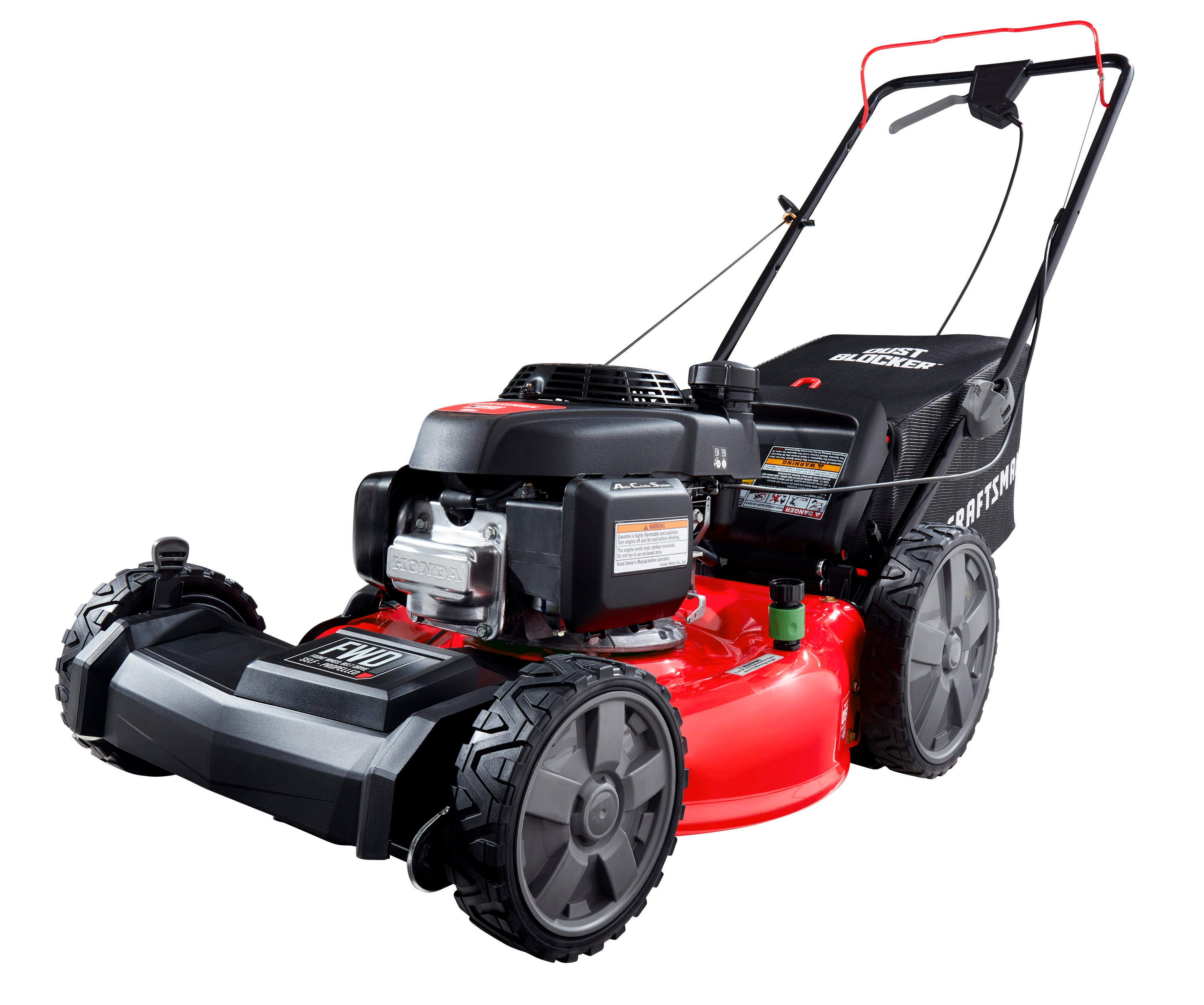 Craftsman Craftsman M250 160 Cc 21 In Self Propelled Gas Push Lawn Mower With Honda Engine In The Gas Push Lawn Mowers Department At Lowes Com