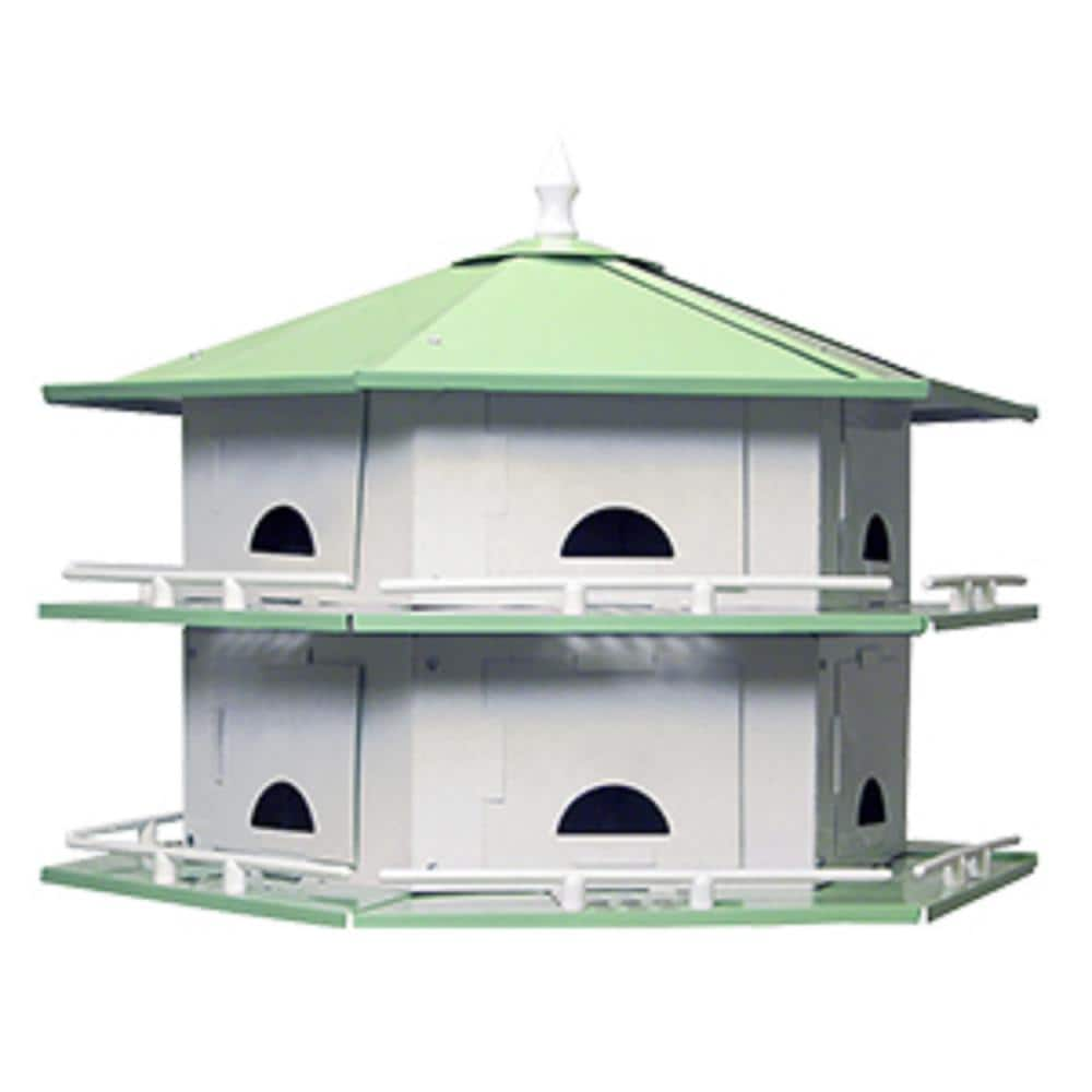 Birds Choice Starling Resistant Purple Martin House 4 Floor /& 12 Room Assembled