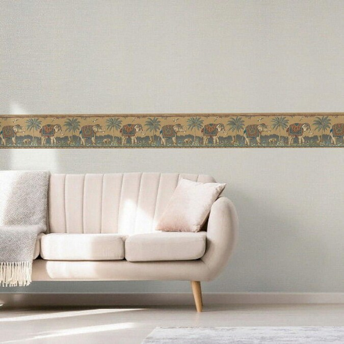 Dundee Deco 8.5-in Prepasted Wallpaper Border in the ...